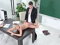 Total subordination and humiliation wait for slutty student
