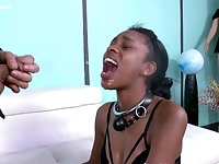 Her black pussy gets fucked very hard by Bootleg