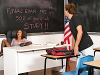 Deep female teacher classroom porn with a top MILF
