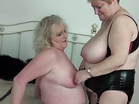 Horny older bolder Claire Knight and Fiona Knight having fun