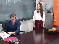 Schoolgirl's fitting punishment
