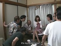 Juri Kitahara had a surprising visit from her neighbors