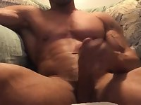 muscle cock cum