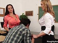 Ava Addams & Tanya Tate & Giovanni Francesco in My First Sex Teacher