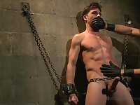 30 minutes Of Torment. Straight hunk Lance Hart The Wall The Chair The Water Chamber