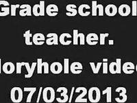 grade school teacher. gloryhole clip. 07/03/2013