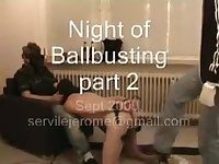 Night of ballbusting part two