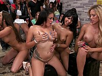 Invasion end in an orgy