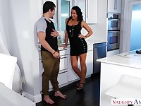 NaughtyAmerica - My Friend's Horny Mommy - Lezley Zen and Bambino