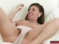 French mom nylon and money shot
