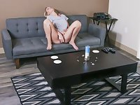 Controlling vibrator to make stepmom jizz