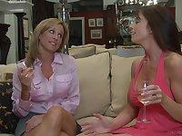 Mature lesbian pornstar babes Prinzzess and Bibette Blanche