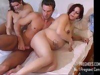 Amateur Porn Pregnant 3Some Sex