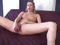 Masturbating With A Dildo