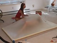 lucy in the vacbed