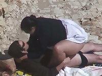 Estrangeiro - Hidden Cam Couple, BIG BEAUTIFUL WOMEN in the beach procreation
