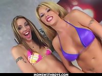 MILF Brooke Haven With Delilah Strong Threesome