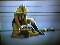 Mixed Ring wrestling. Vintage 7