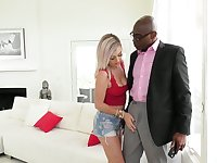 Whore wife Nova Cane has an affair with black neighbor with huge dong