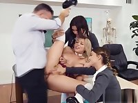 School anal - Kimber Woods Kristen Scott and Zoey Monroe on b