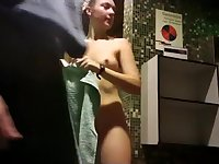 Therme Wien Ukrainian girl showing off