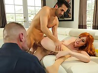 Wife gets nasty in front of her hubby