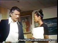 Hot Man Retro Vintage Porn Scenes With Horny Girl