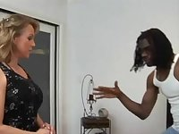 Horny interracial xxx clip