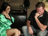 Alexa Aimes Offers Shy Guy A Very Hot Nuru Massage