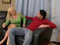 Hottest Big Tits, scène porno Ejaculation