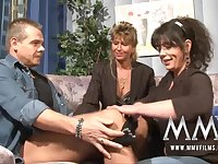 MMVFilms Milf teacher having fun with couple