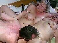 Fat Granny Having Lesbian Sex