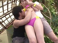 Hot Japanese Teens In Swimsuits Get Fucked Whilst On Holiday