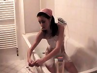 Golden shower fetish guys and girls enjoy piss shower