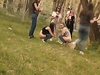 Public Partygirls Pee Voyeur