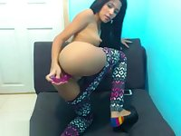 Sexy Desi Indian Masturbating In Yoga Pants Leggings On Webcam