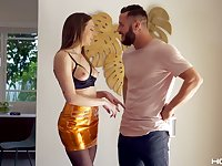 Danny Mountain is fucking and toying anal hole of luscious chick Tiffany Watson