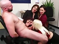 Milking Hot Big Stud in the Office