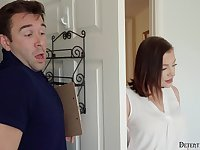 Dick crazed stepdaughter is having a secret affair with her stepdad