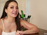 Porn interview with a thicc adult model Gia Paige answering some hot questions
