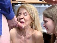 He caught her masturbating and scissoring Suspects