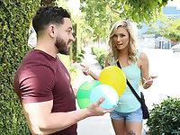 Water Balloon Prank