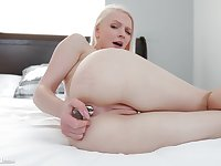 Never did she placed cock into the ass but she's so happy