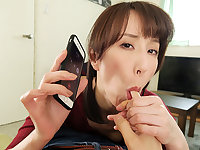 Reiko Sawamura in Reiko Sawamura Cheating Wife Calls Me For Sex Part 1 - WAAPVR
