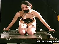 This is a dream situation for any submissive bitch and this hoe loves wax play