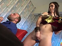 Erotic homemade fucking with kinky wife Cassie Fire in cosplay