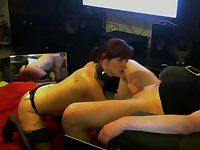 kinky-sexdoll in obsessive blowjob training !