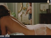Hollywood babe Rosamund Pike waiting to have sex in the bedroom