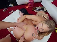 It's POV party time with stacked babes Payton Preslee and Alison Avery