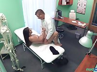 Erotic moments between a young patient and the doctor